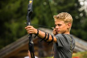 Camp Suisse archery