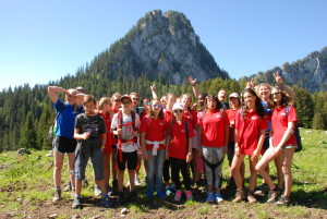Camp Suisse; Session 1 2016; Green Group; Lake Taney