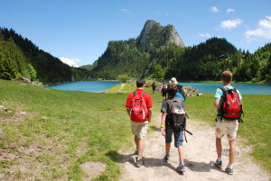 Camp Suisse 2016; Green Group; Lake Taney hike