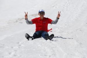 Camp Suisse Session 2 2016; Sledding; Glacier 3000