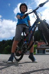 Red Group; Camp Suisse Session 1 2016; mountain biking