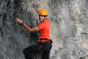 Yellow Group; Camp Suisse Session 1 2016; outdoor rock climbing