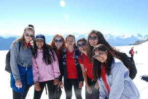 Camp Suisse Session 2 2016; Glacier 3000