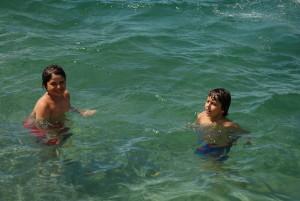 Camp Suisse Session 3 2016; Villeneuve Swimming Pool; Lake Geneva