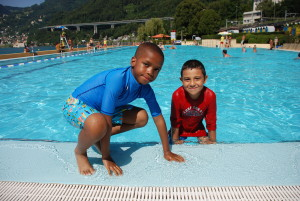 Camp Suisse Session 4 2016; Villeneuve Swimming Pools