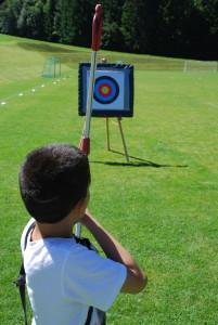 Camp Suisse Session 3 2016; Archery
