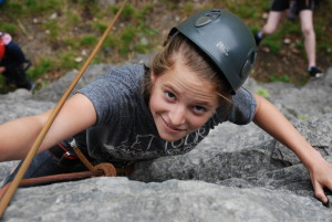 Camp Suisse Session 3; Outdoor rock climbing