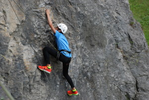 Camp Suisse Session 3 2016; Outdoor rock climbing; Art jamming
