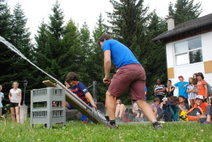 Camp Suisse Session 3 2016; Mission Day; Rocket launch