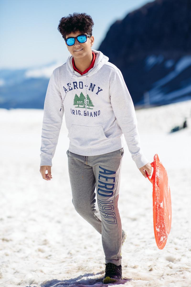 Glacier day