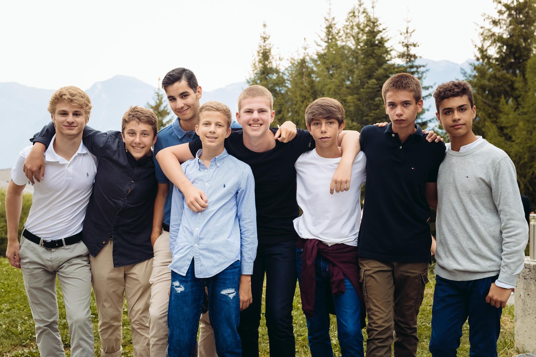 Camp Suisse prom!