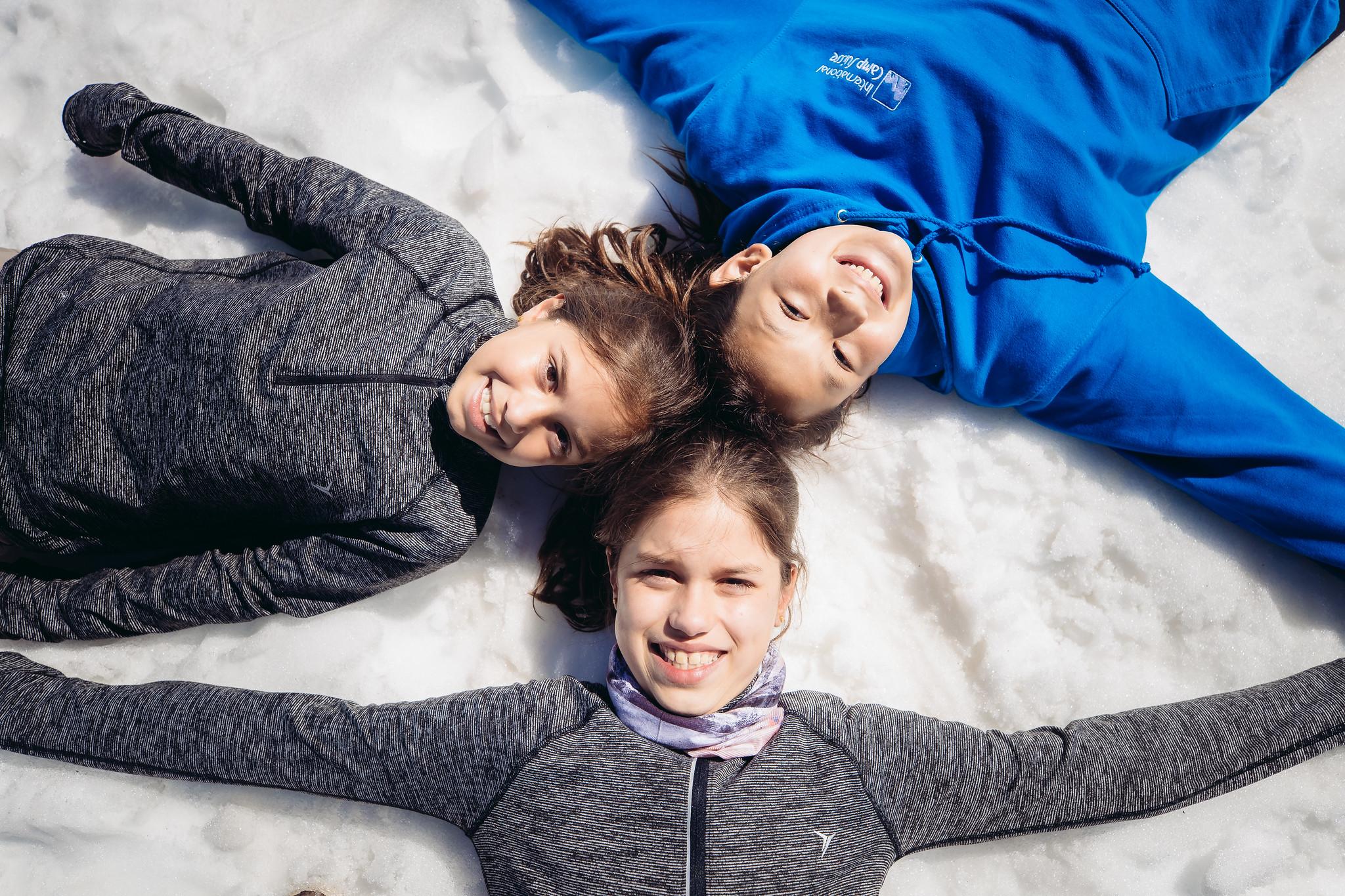 Friends on the glacier